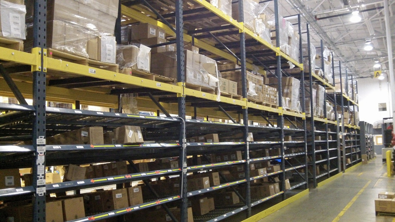 Used Unarco T-Bolt Carton Flow and Pallet Flow Rack